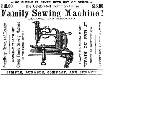 Impact On America Sewing Machine Mesmerizing Who Invented The Sewing Machine In The Industrial Revolution